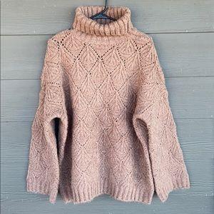 POL Wool Knit Chunky Sweater NWT